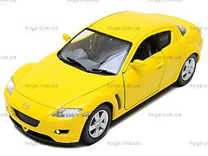 Инерционная машина Mazda RX-8, KT5071W, toys
