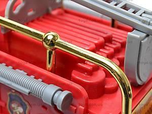 Инерционная машина Metro Fire, 10886, детские игрушки