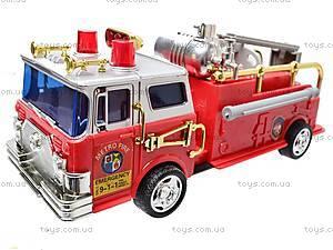 Инерционная машина Metro Fire, 10886, toys.com.ua