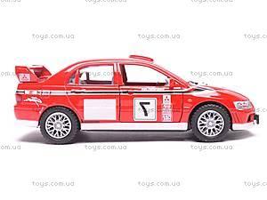 Инерционная машина Mitsubishi Lancer VII WRC, KT5048W