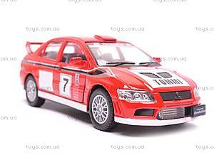 Инерционная машина Mitsubishi Lancer VII WRC, KT5048W, фото