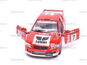 Инерционная машина Mitsubishi Lancer VII WRC, KT5048W, отзывы