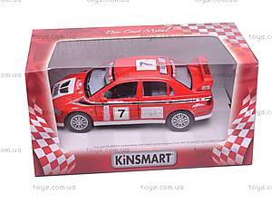 Инерционная машина Mitsubishi Lancer VII WRC, KT5048W, цена