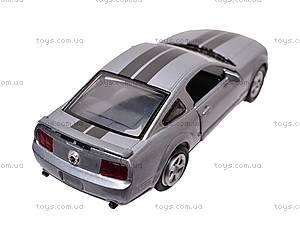 Инерционная машина Mustang GT2005, 51943, игрушки