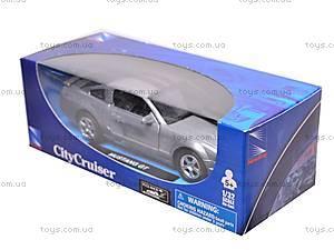Инерционная машина Mustang GT2005, 51943, магазин игрушек