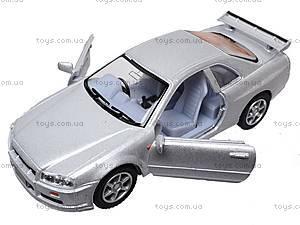 Инерционная машина Nissan Skyline GT-R R34, KT5051W, фото