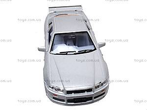 Инерционная машина Nissan Skyline GT-R R34, KT5051W, отзывы