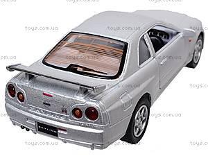 Инерционная машина Nissan Skyline GT-R R34, KT5051W, цена
