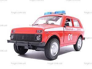 Инерционная машина Niva «Пожарная охрана», 9078C