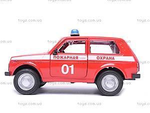 Инерционная машина Niva «Пожарная охрана», 9078C, фото