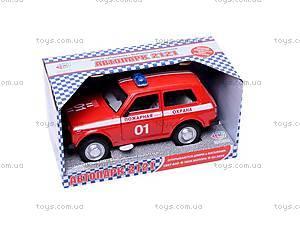 Инерционная машина Niva «Пожарная охрана», 9078C, отзывы