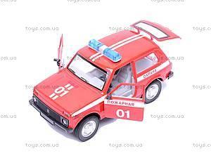 Инерционная машина Niva «Пожарная охрана», 9078C, цена