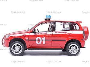 Инерционная машина Нива «Пожарная охрана», 9079-E, отзывы