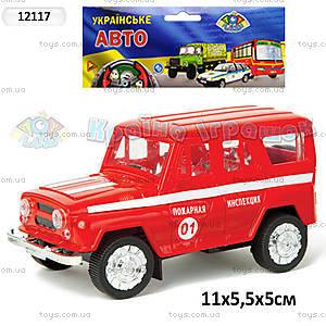 Инерционная машина «Пожарная инспекция», 12117