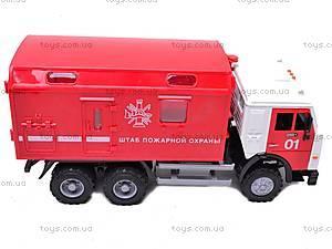 Инерционная машина «Пожарная охрана», 9119B, купить