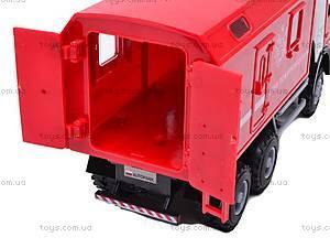 Инерционная машина «Пожарная охрана», 9119B, фото