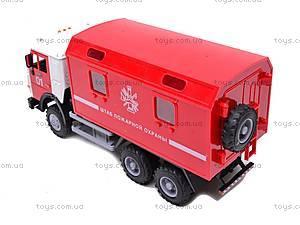 Инерционная машина «Пожарная охрана», 9119B, отзывы