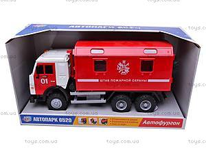 Инерционная машина «Пожарная охрана», 9119B, цена