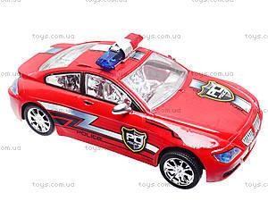 Инерционная машина «Полиция» для детей, 8038, іграшки