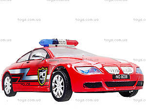 Инерционная машина «Полиция» для детей, 8038, детский