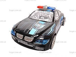 Инерционная машина «Полиция» для детей, 8038, фото