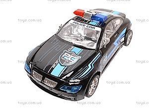 Инерционная машина «Полиция» для детей, 8038, игрушки