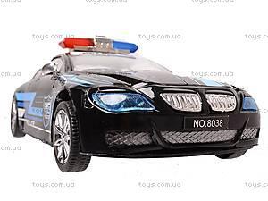Инерционная машина «Полиция» для детей, 8038, магазин игрушек