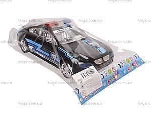 Инерционная машина «Полиция» для детей, 8038, toys.com.ua