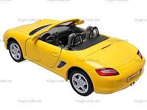 Инерционная машина Porsche Boxter S, KT5302W, игрушки
