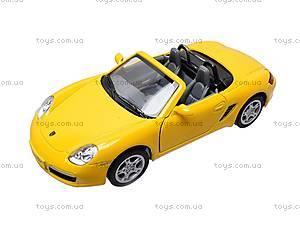 Инерционная машина Porsche Boxter S, KT5302W, детские игрушки