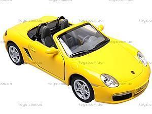 Инерционная машина Porsche Boxter S, KT5302W, магазин игрушек