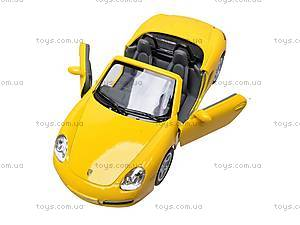 Инерционная машина Porsche Boxter S, KT5302W, toys.com.ua