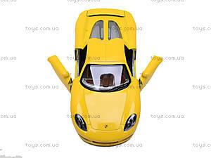 Инерционная машина Porsche Carrera GT, KT5081W, детские игрушки