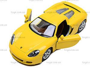 Инерционная машина Porsche Carrera GT, KT5081W, toys.com.ua