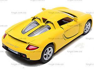 Инерционная машина Porsche Carrera GT, KT5081W, toys