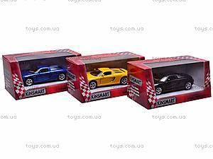 Инерционная машина Porsche Carrera GT, KT5081W, купить