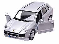 Инерционная машина Porsche Cayenne Turbo, KT5075W, toys.com.ua