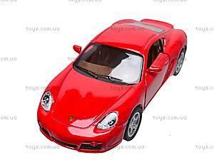 Инерционная машина Porsche Cayman S, KT5307W, купить