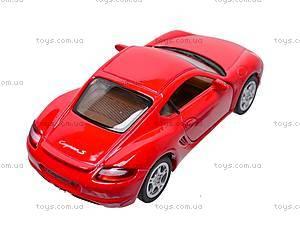 Инерционная машина Porsche Cayman S, KT5307W, отзывы