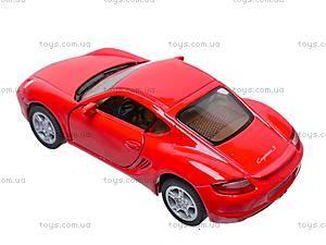 Инерционная машина Porsche Cayman S, KT5307W, цена
