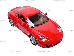 Инерционная машина Porsche Cayman S, KT5307W