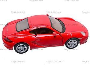 Инерционная машина Porsche Cayman S, KT5307W, игрушки