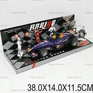 Инерционная машина Racing, с фигурками людей, 339-45A