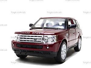 Инерционная машина Range Rover Sport , KT5312W, toys
