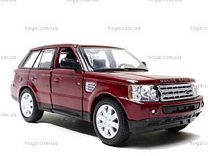 Инерционная машина Range Rover Sport , KT5312W, детский