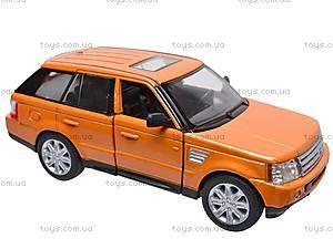 Инерционная машина Range Rover Sport , KT5312W, отзывы