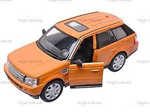 Инерционная машина Range Rover Sport , KT5312W, игрушки