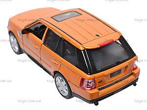 Инерционная машина Range Rover Sport , KT5312W, детские игрушки