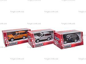 Инерционная машина Range Rover Sport , KT5312W, магазин игрушек
