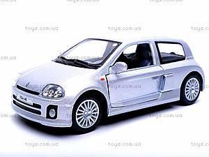 Инерционная машина Renault Clio Sport V6, KT5083W